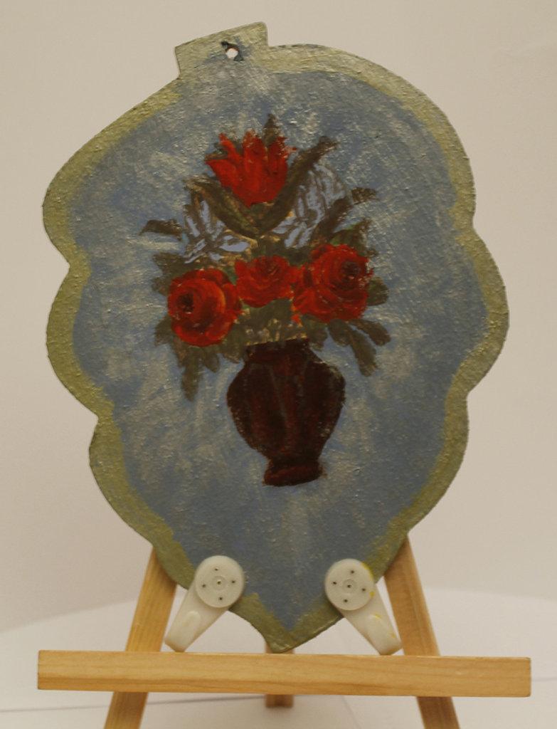 Appendi canovacci con fiori