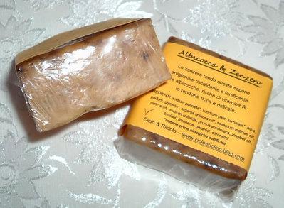 Sapone albicocche & zenzero