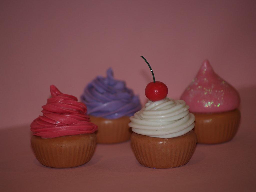 Cupcake segnaposto pasta di mais