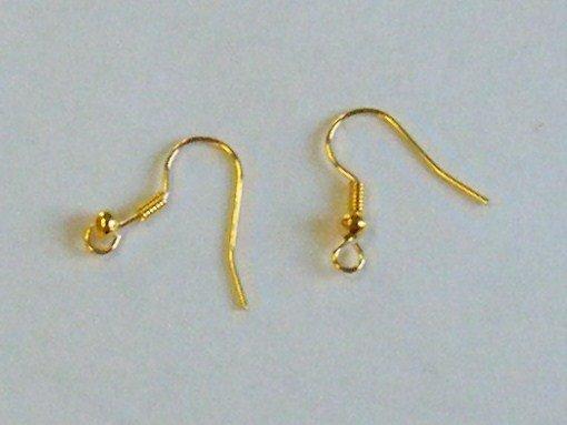 coppia  monachelle colore oro