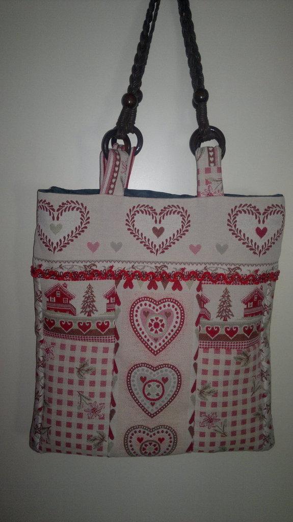 Popolare borsa di stoffa - Donna - Borse - di Le sorelle creative | su  FB05