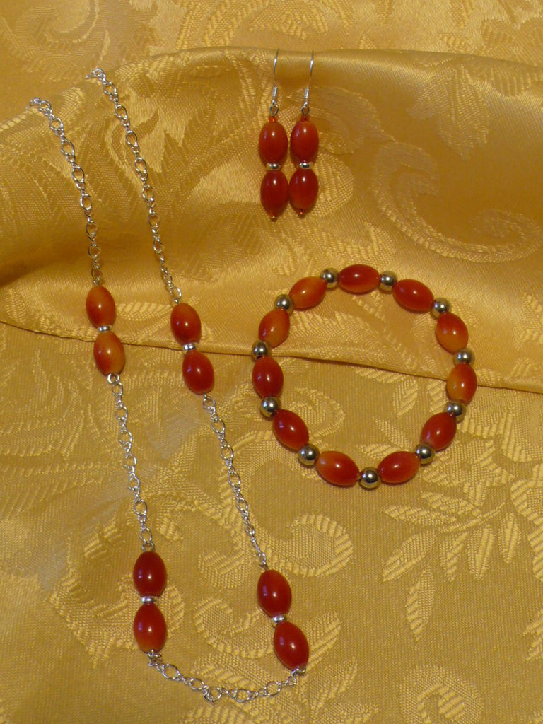 Parure Red Olive