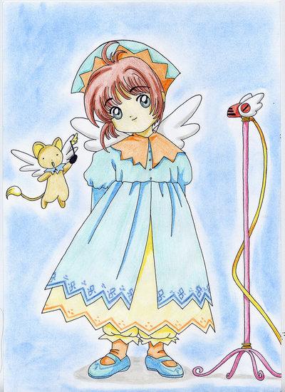 Stampa disegno Sakura
