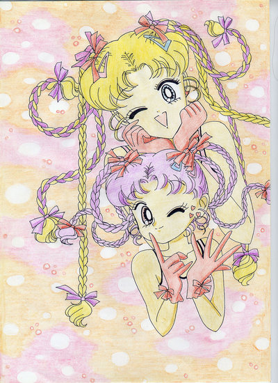 Stampa disegno Sailor Moon