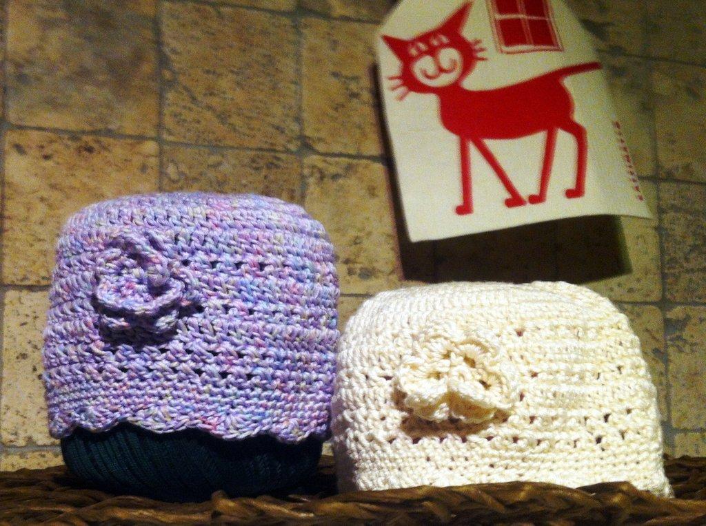 cappellino in cotone bimbo