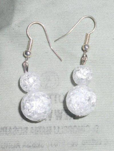 orecchini cristallo di rocca