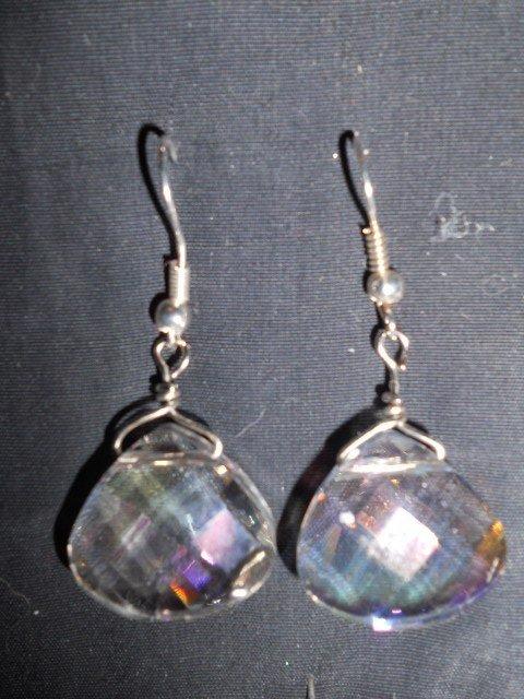 orecchini con goccia crystal