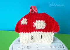 Cerchietto Fungo Super Mario - Super Mario Mushroom hairband