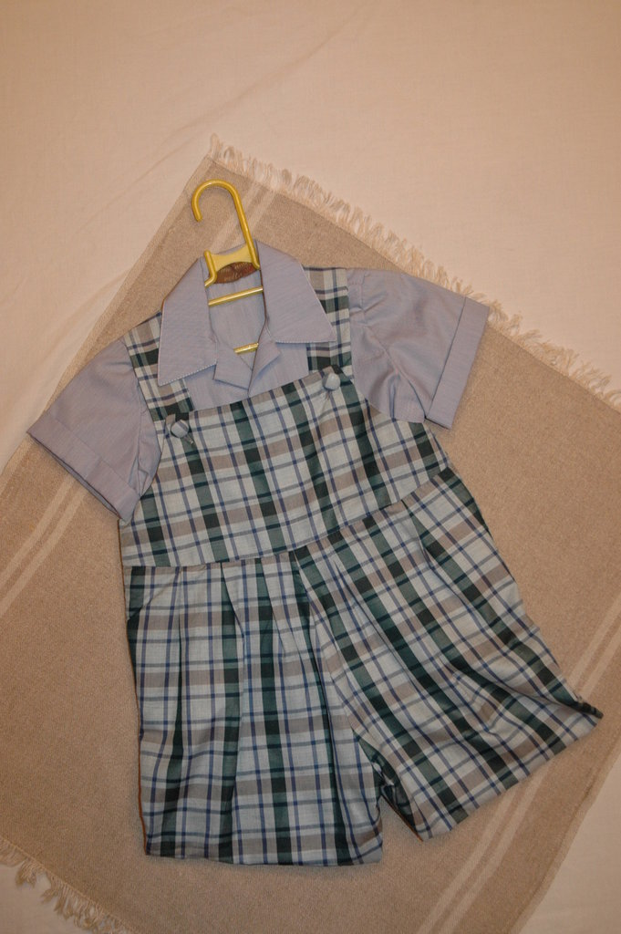 mod 32-97 tg.m 12/24 3/6salopette con camicia