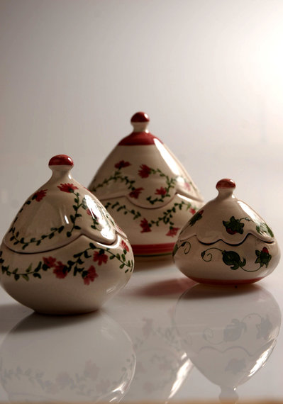 Conosciuto bomboniera in ceramica scatolina fatta a mano - Per la casa e per  PY68