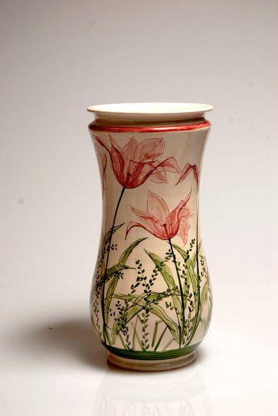 vaso portafiori fatto a mano