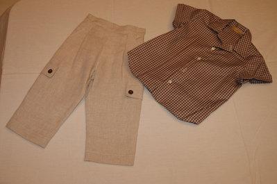 mod.32-152 tg.A 2/3 completo pantalone con camicia