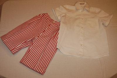 mod.202-91 tg.A 6/7 completo bermuda con camicia