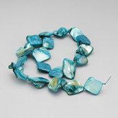 filo madreperle azzurro