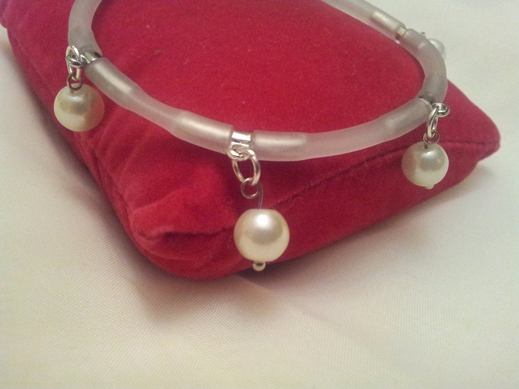 PEARLS AROUND bracciale