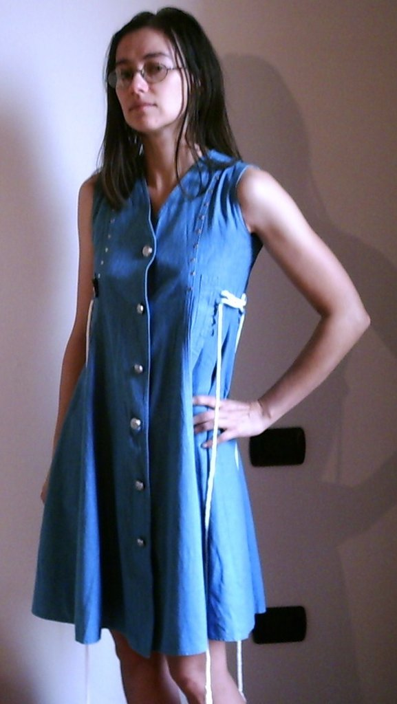 huge discount d8846 b6098 Vestito jeans