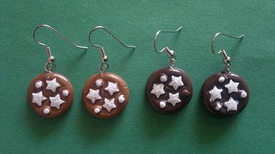 orecchini pan di stelle