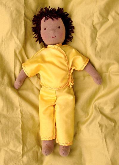 offerta! bambola Waldorf maschio, 50 cm