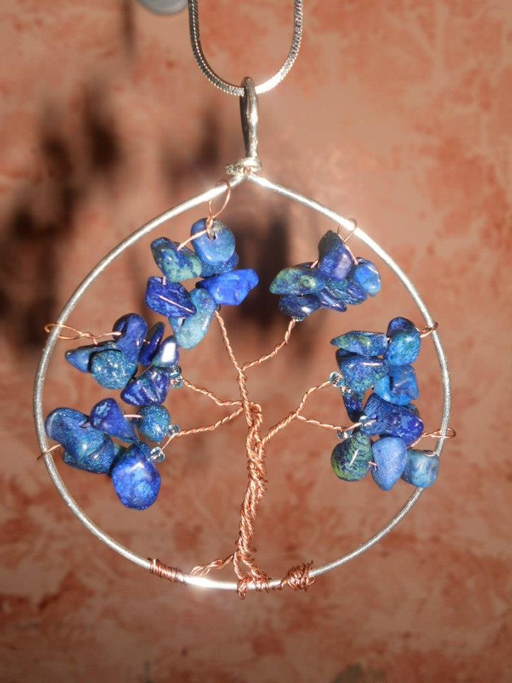 Albero della vita blu