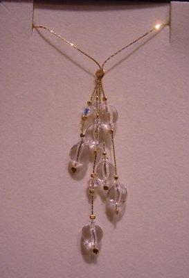 collana con cristalli di rocca
