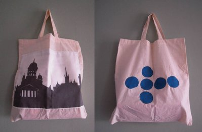 Finlandia - borsa shopping tote bag - pezzo unico