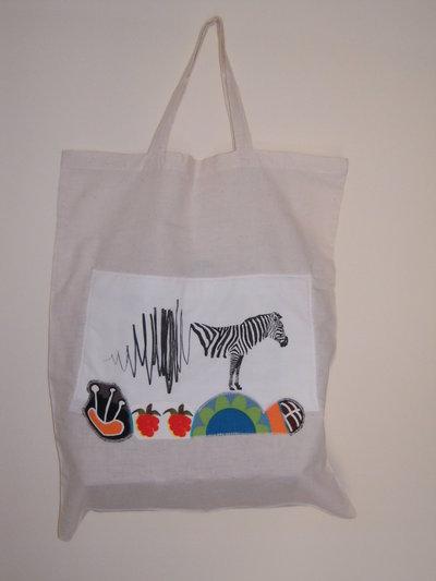 Zooropa - borsa shopping tote bag - pezzo unico