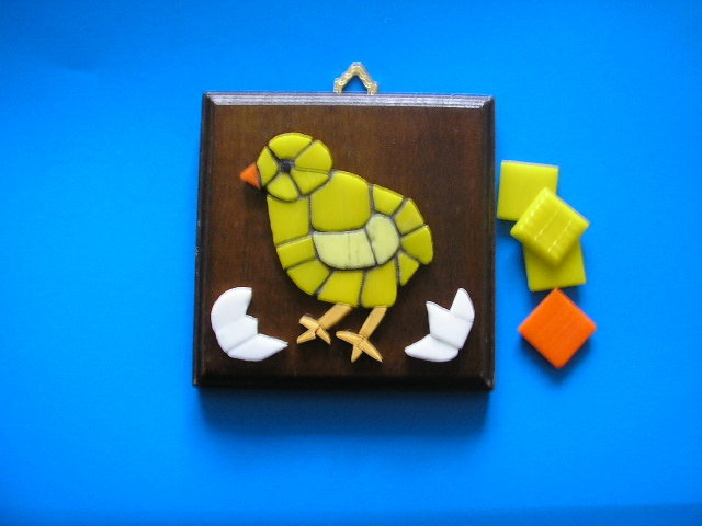 Mosaico pulcino - Chicken Mosaic