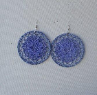 Filigrane azzurre cotone