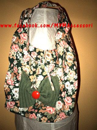 borsa fiorita