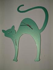 Orologio Gatto con brillanti