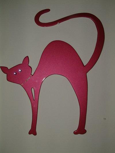 Gatto Stilizzato con brillanti