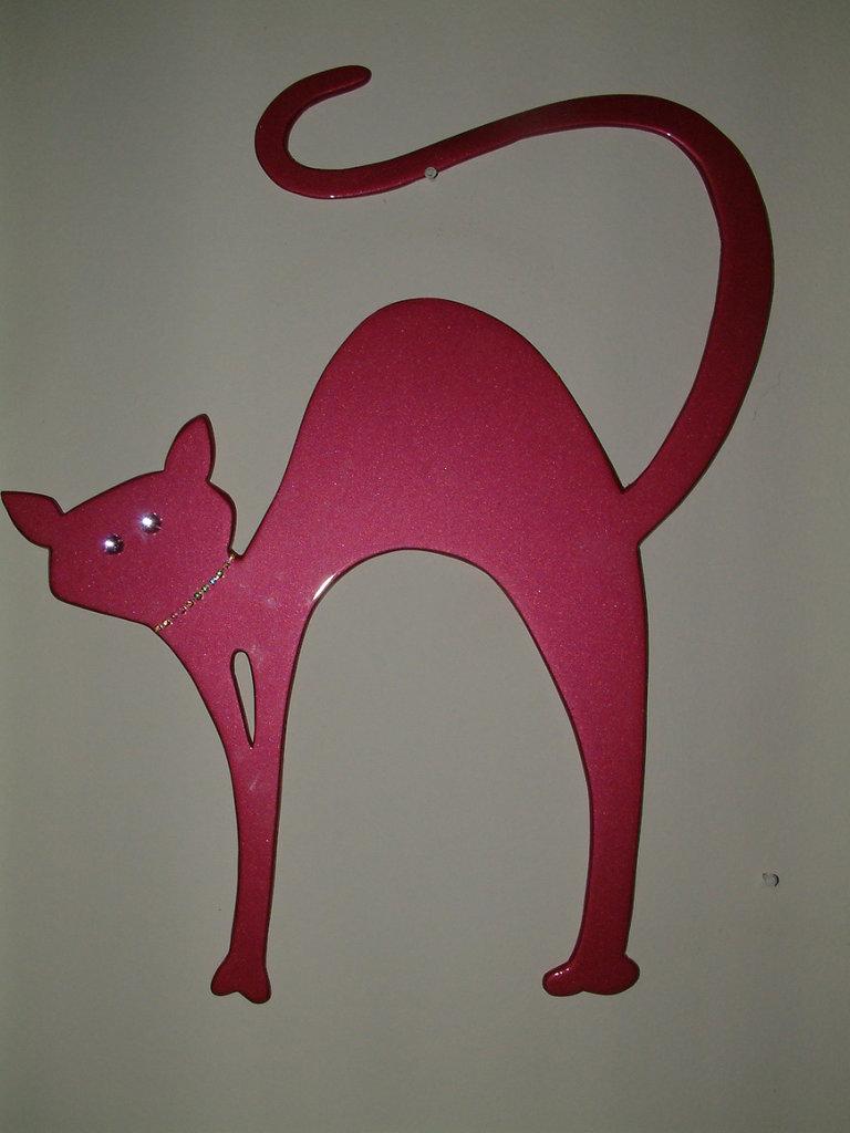 Gatto Stilizzato Con Brillanti Per La Casa E Per Te Produzioni