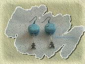 orecchini Macaron Azzurri