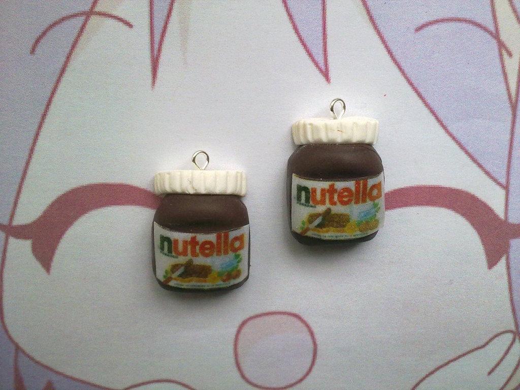 Charm fimo Nutella