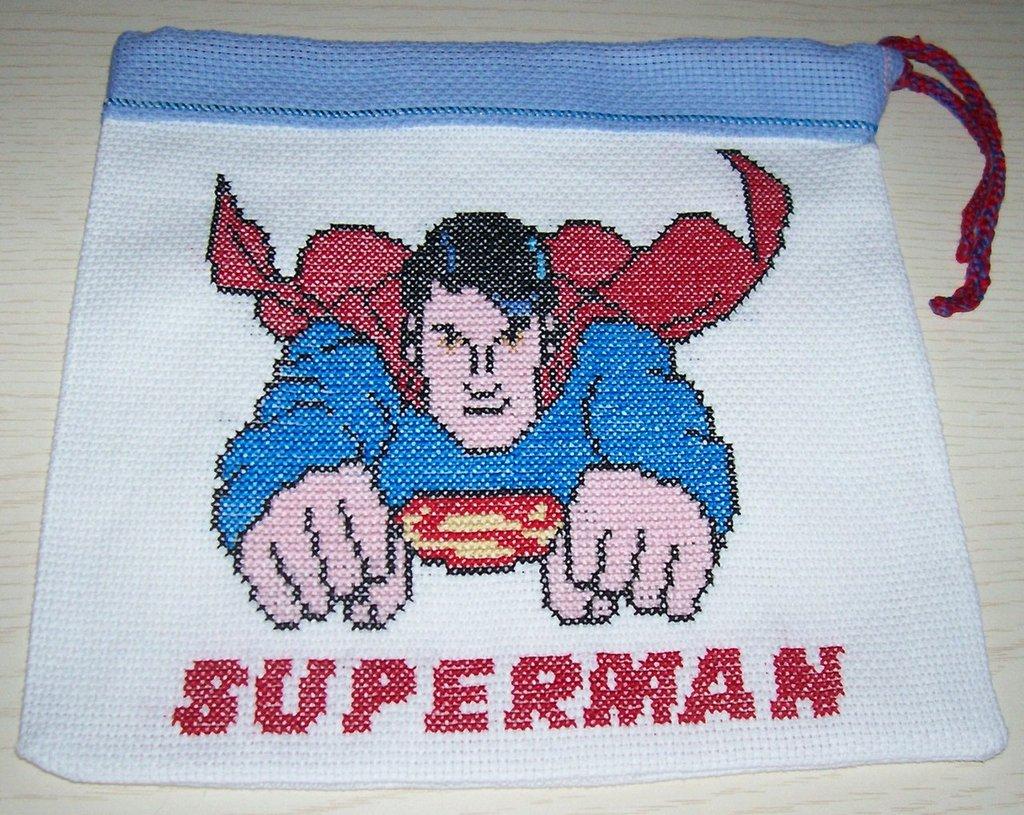 CUSTODIA PER NINTENDO CON SUPERMAN