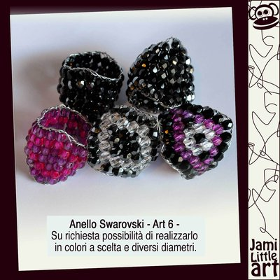 Art_006_ Anello in swarovski