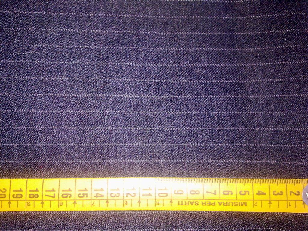 Scampolo tessuto taglio lana stoffa gessato classico