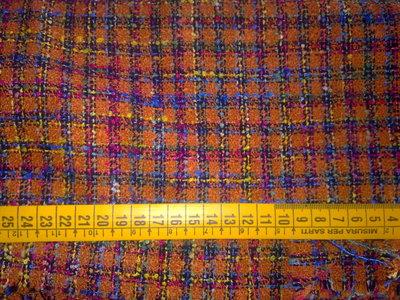Scampolo tessuto taglio stoffa lana bouclè