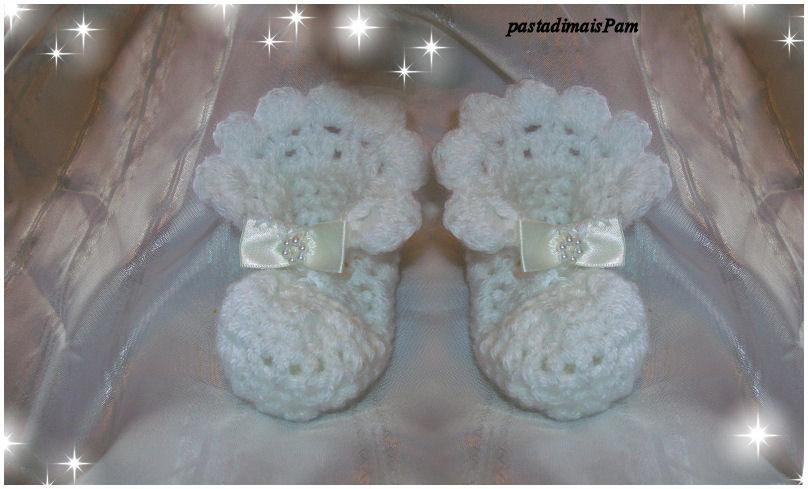 Conosciuto scarpine per neonato all uncinetto - Donna - Accessori - di  IZ08