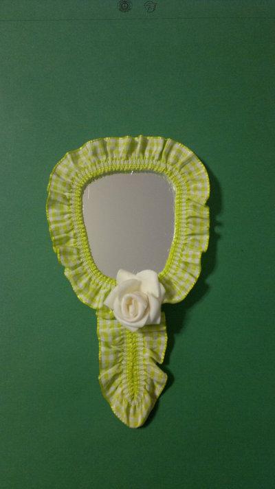 specchietto verde