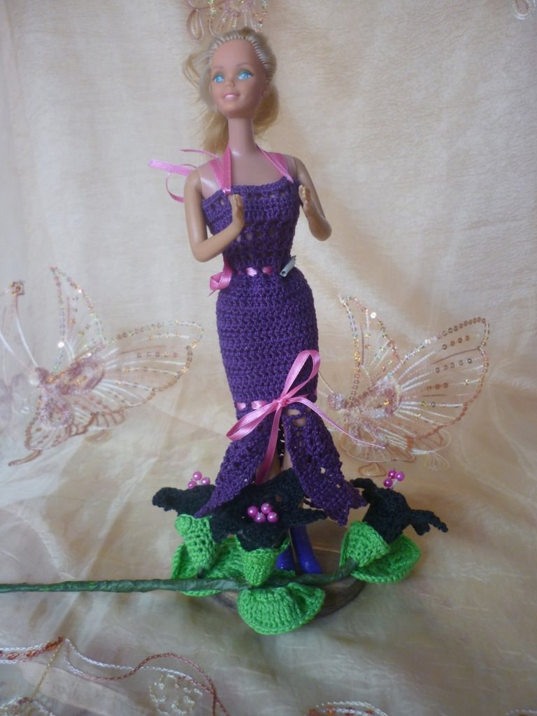 Vestito Barbie Viola