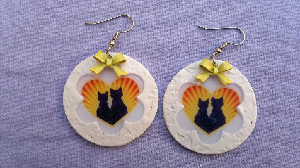 orecchini gatti