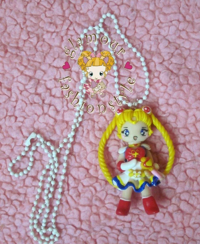 COLLANA NECKLACE FIMO SAILOR MOON
