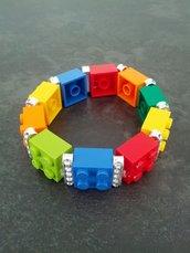 Bracciale elastico lego