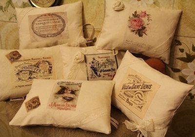 cuscini vintage