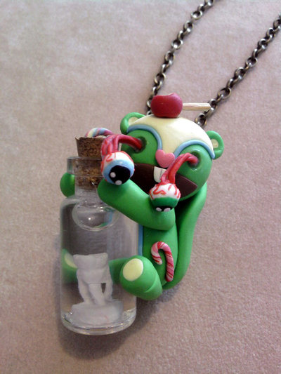 Collana con Nutty horror - Happy Tree Friends - fimo