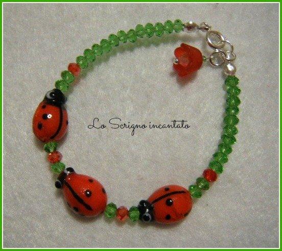 Bracciale Ladybugs