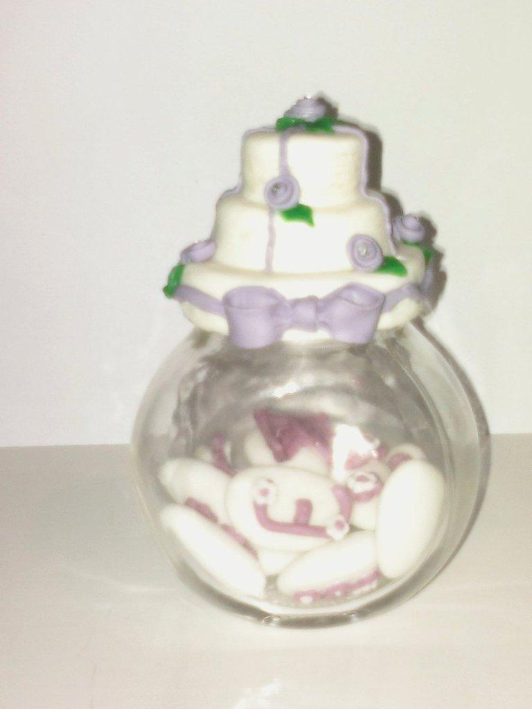 Wedding Cake con barattolino