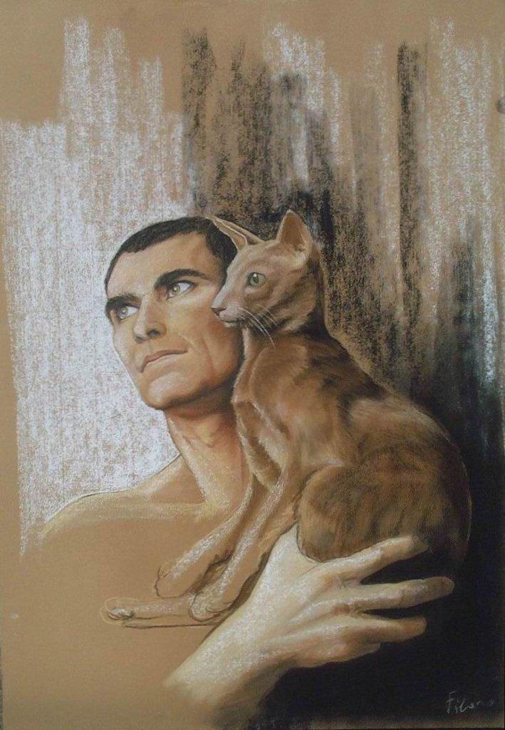 L'uomo e il gatto