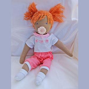 bambola Waldorf Caramella, 50 cm